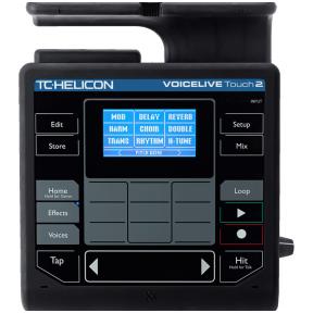 Vokalinis efektų procesorius - TC HELICON VOICELIVE TOUCH 2
