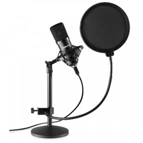VONYX CMTS300 STUDIO MICROPHONE SET BLACK 173.518