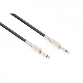Vonyx Guitar Cable 6.3mm Mono - 6.3mm Mono 3m Black 177.797