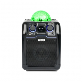 Vonyx SBS50B Party Speaker RGB LED Ball Black 178.350