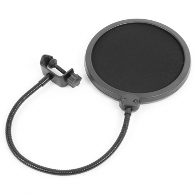 Vonyx CMS400 Studio Set / Condenser Microphone with Stand and Pop Filter 3