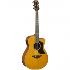 AKUSTINĖ GITARA SU PAJUNGIMU Yamaha AC-1M Natural Electro-Acoustic Guitar