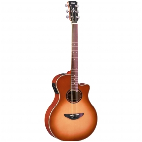 Akustinė Gitara Su Pajungimu Yamaha APX-7A Amber