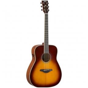 Yamaha FG-TA Brown Sunburst TransAcoustic Guitar