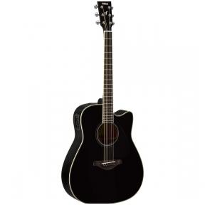 Yamaha FGX-820C Black Electro-Acoustic Guitar